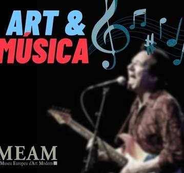 """CONCIERTO: ART & MUSICA- JOAN VINYALS BAND """"EST..."""