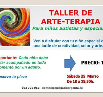 CLASE: ARTETERAPIA PARA NIÑOS AUTISTAS Y ESPECI...