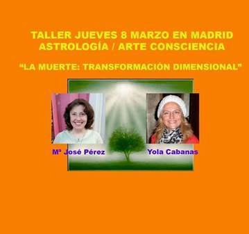 TALLER: ASTROLOGÍA-CASA 8: LOS PROCESOS DE TRAN...