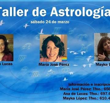 TALLER: ASTROLOGÍA, CONSTELACIONES FAMILIARES Y...