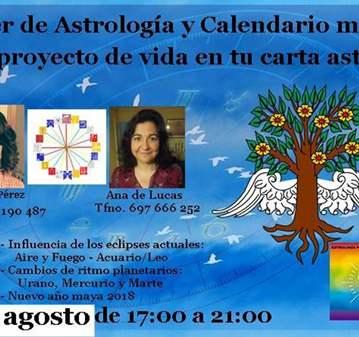 TALLER: ASTROLOGÍA Y CALENDARIO MAYA: TU PROYEC...