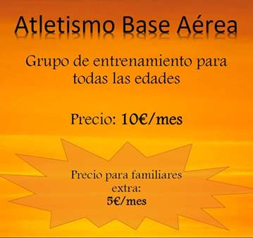ATLETISMO BASE AÉREA