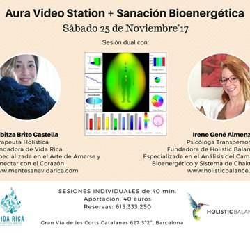 TERAPIA: AURA VIDEO STATION + SANACIÓN BIOENERG...