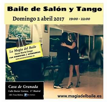 QUEDADA: BAILE DE SALÓN Y TANGO CON CLASE