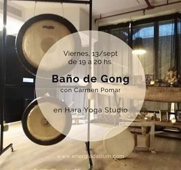 BAÑO DE GONG EN HARA YOGA STUDIO