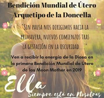 EVENTO: PRIMERA BENDICIÓN MUNDIAL DE ÚTERO 2019