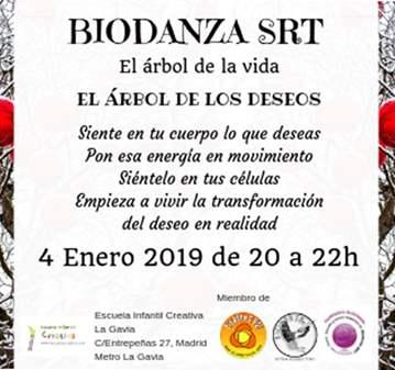 CLASE: BIODANZA: EL ÁRBOL DE LOS DESEOS