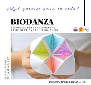 CLASE: BIODANZA SESIÓN DE PRESENTACIÓN GRATUITA
