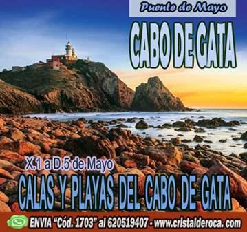 VIAJE: CABO DE GATA, CALAS Y PLAYAS