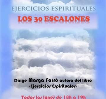 SESIÓN: EJERCICIOS ESPIRITUALES - LOS 30 ESCALONES