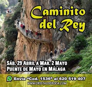 VIAJE: CAMINITO DEL REY MALAGA / YA SOMOS 48 - ...
