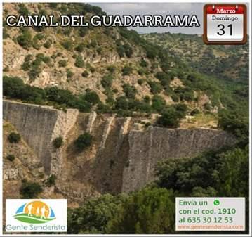 EXCURSIÓN: CANAL DEL GUADARRAMA
