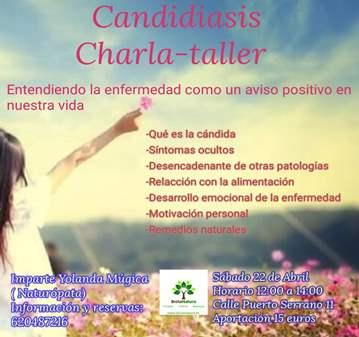 CANDIDIASIS CHARLA-TALLER
