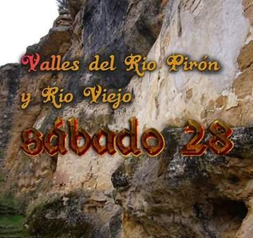 RUTA: CAÑON DEL RIO PIRON Y RIO VIEJO