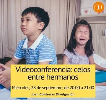 CONFERENCIA: CELOS ENTRE HERMANOS (MEJORAR CONV...