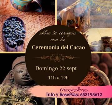 JORNADA: CEREMONIA DEL CACAO