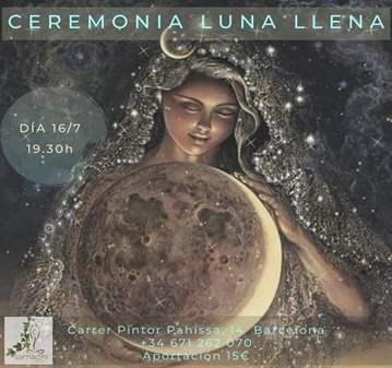 SESIÓN: CEREMONIA LUNA LLENA Y ECLIPSE
