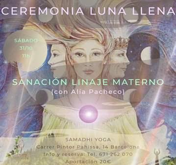 SESIÓN: CEREMONIA LUNA Y SANACIÓN DE LINAJE MAT...