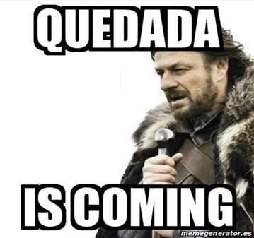 QUEDADA: CERVECITA VIERNES 10 DE MAYO A LAS 20H