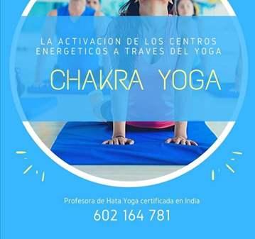 CLASE: CHACRAS YOGA