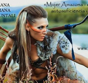 ENTRENAMIENTO: CHAMANISMO: MUJER AMAZONA