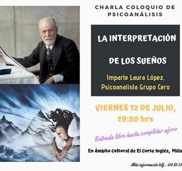 CHARLA COLOQUIO LA INTERPRETACION DE LOS SUEÑOS