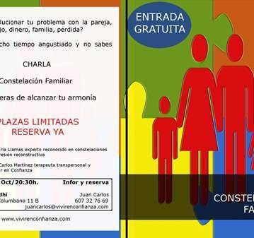 CHARLA GRATUITA CONSTELACIONES FAMILIARES