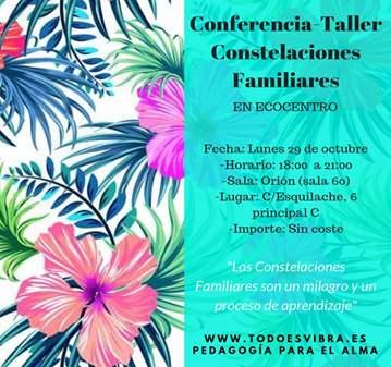 CHARLA-TALLER CONSTELACIONES FAMILIARES