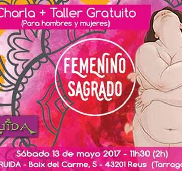 CHARLA + TALLER GRATUITO LO FEMENINO SAGRADO