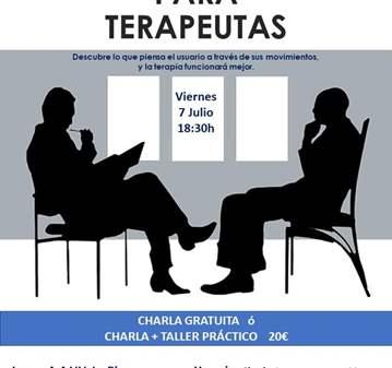 CHARLA + TALLER LENGUAJE CORPORAL PARA TERAPEUTAS