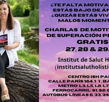 CHARLAS DE MOTIVACIÓN Y SUPERACIÓN  -GRATUITAS