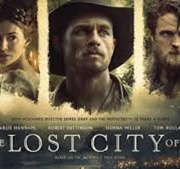 "EVENTO: CINE ""THE LOST CITY OF Z"