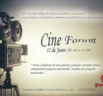 EVENTO: CINEFORUM EN EMOCIONARTE
