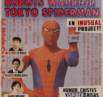 EVENTO: CINEMASACRE: PROYECTAMOS EL SPIDERMAN J...