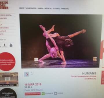 EVENTO: CIRCO (AUSTRALIANO) :HUMANS