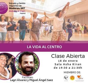 CLASE ABIERTA DE BIODANZA: