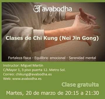 CLASE ABIERTA DE CHI KUNG