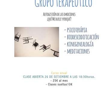 CLASE ABIERTA GRUPO TERAPÉUTICO