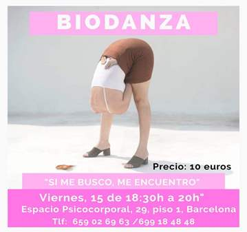 CLASE DE BIODANZA