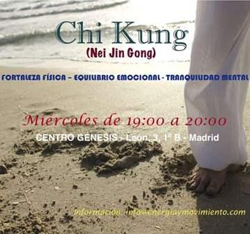 CLASE DE CHI KUNG (NEI JIN GONG)