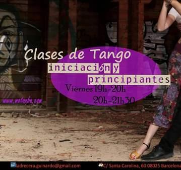 CLASE DE TANGO - PRINCIPIANTES