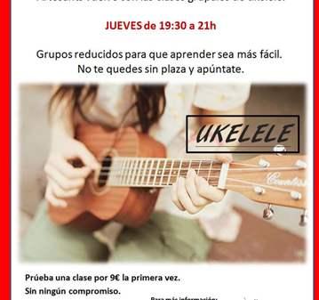 CURSO: CLASE DE PRUEBA DE UKELELE NIVEL INICIAL