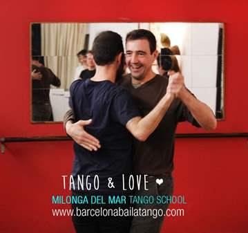 CLASE DE TANGO ARGENTINO Y BRINDIS EN EL TEJADO