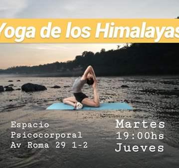 CLASE DE YOGA DE LOS HIMALAYA