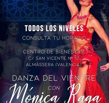 CLASES DE DANZA DEL VIENTRE CON MONICA RAGA
