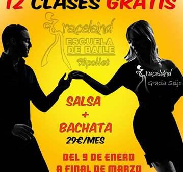 CLASES DE SALSA + BACHATA POR SOLO 29€/ MES