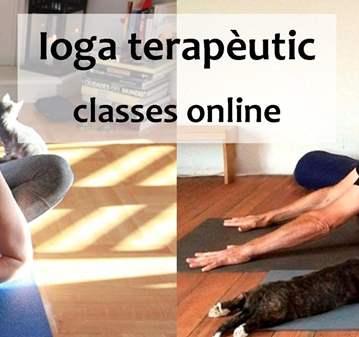 CLASES DE YOGA TERAPÉUTICO ONLINE
