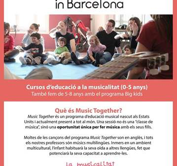 CLASE: CLASSE DE PROVA: MUSIC TOGETHER