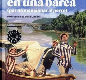 CHARLA: CLUB DE LECTURA: TRES HOMBRES EN UNA BARCA