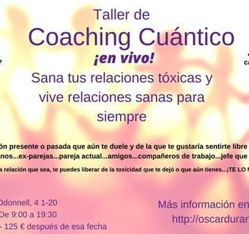 TALLER: COACHING CUÁNTICO EN VIVO